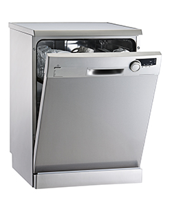 Dishwasher (isolated with clipping path over white background)